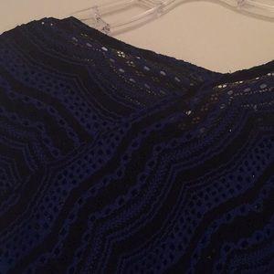 Dana Buchman Tops - Dana Buchman blue and black top